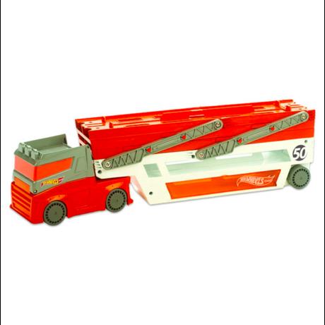 Hot Wheels City 50. évforduló: mega autószállító kamion