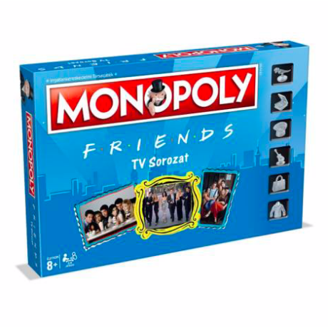 Hasbro Monopoly - Jóbarátok társasjáték (magyar)