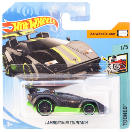 Hot Wheels Lamborghini Countach kisautó