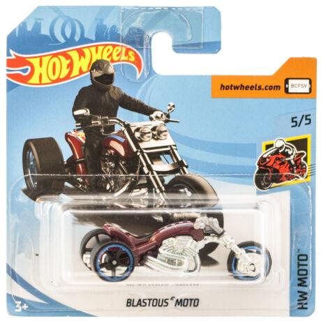 Hot Wheels Blastous Moto motor