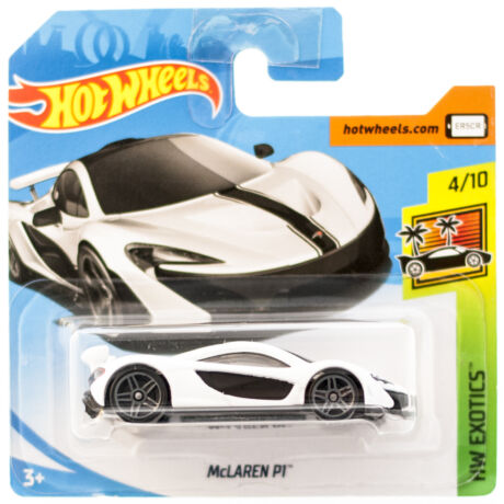 Hot Wheels McLaren P1 kisautó