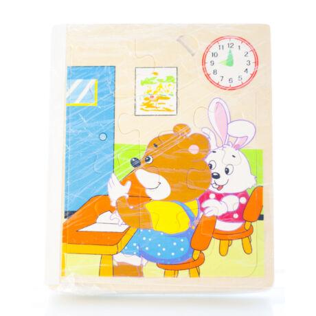 Puzzle Könyv Macis