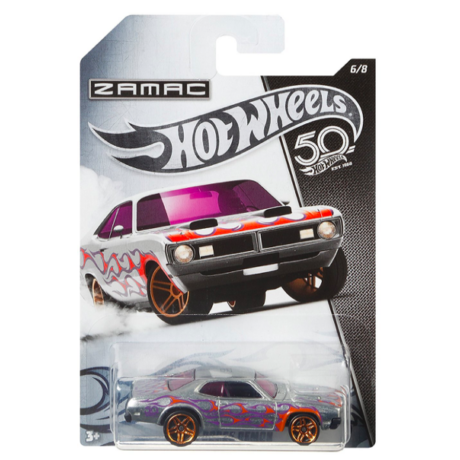 Hot Wheels Zamac 50. szülinap - 1968 Olds 442