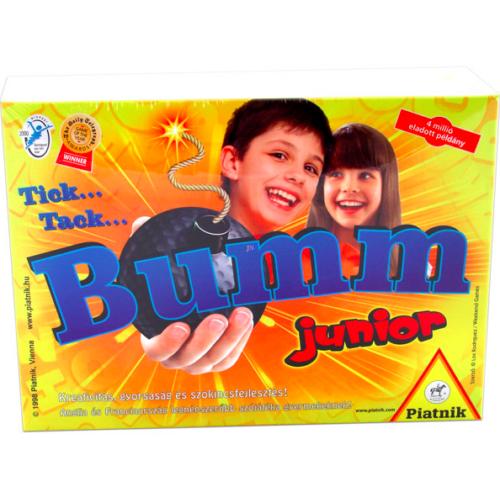 Tick Tack Bumm Junior társasjáték - új kiadás 744969
