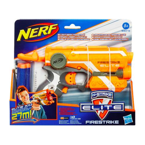 NERF N-Strike Elite: Firestrike szivacslövő pisztoly - narancssárga 53378