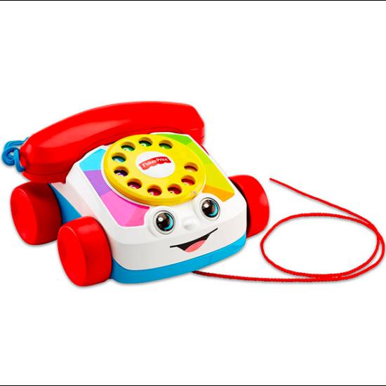 Fisher-Price: Készségfejlesztő klasszikus tárcsás telefon