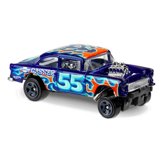 Hot Wheels Flames: 55 Chevy Bel Air Gasser kisautó