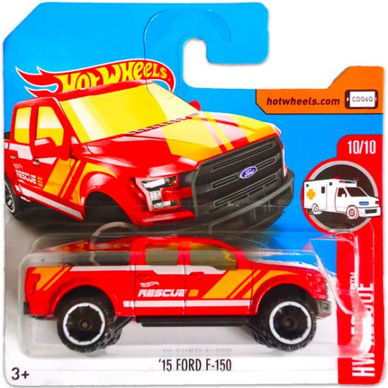 Hot Wheels Rescue: 15 Ford F-150 kisautó