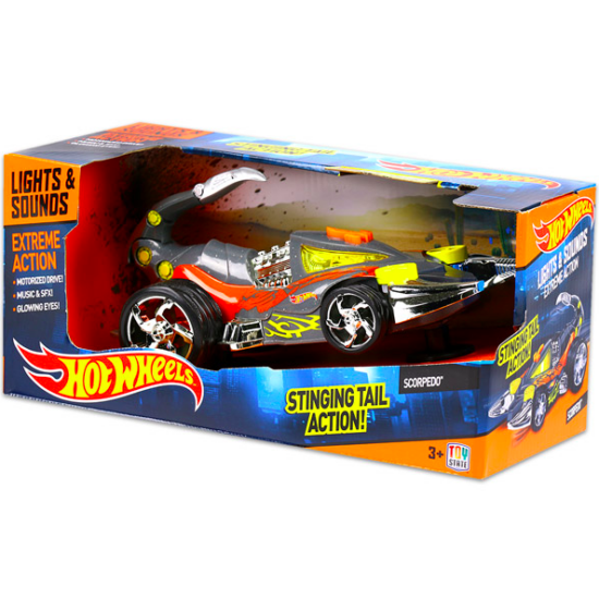 Hot Wheels Extreme Action: Scorpedo kisautó