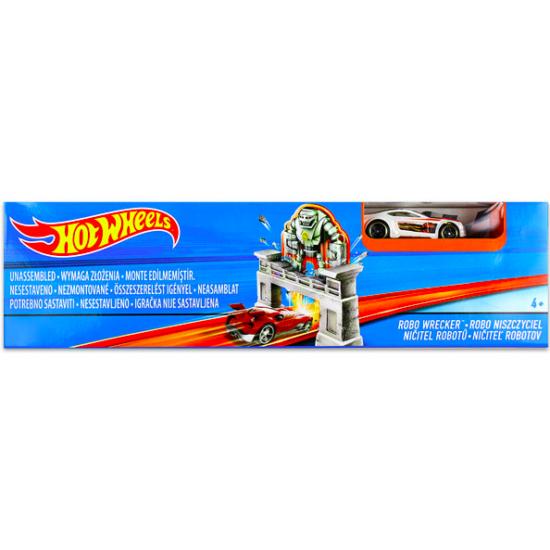 Hot Wheels alap pályák - Robo Wrecker