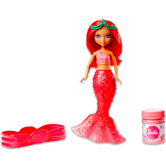 Barbie Dreamtopia: buborékfújó sellőbaba - rózsaszín