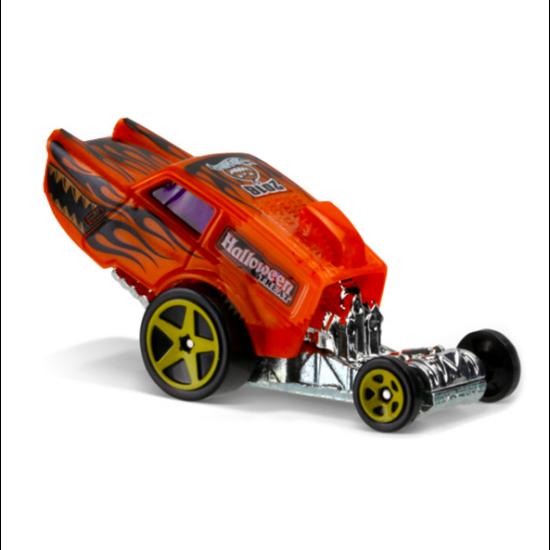 Hot Wheels Holiday Racers: Poppa Wheelie kisautó - narancssárga