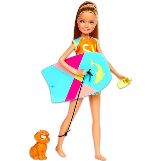 Mattel Delfin Varázslat szőke hajú szörfös tini Barbie