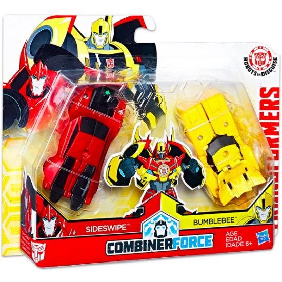 Transformers: Combiner Force - Sideswipe és Bumblebee akciófigura