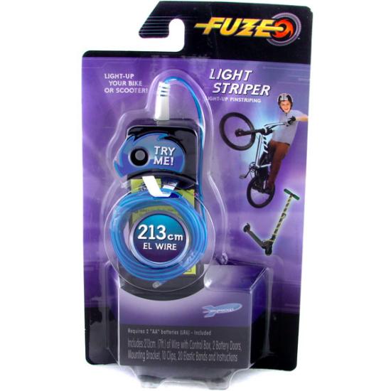 Fuze flexibilis kerékpár dekoráló LED-sor