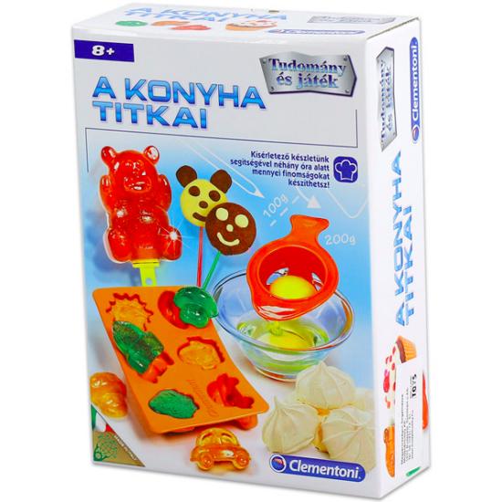 Clementoni A konyha titkai kreatív játék
