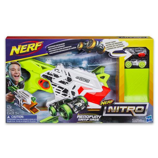 Nerf Nitro: Aerofury Ramp Rage autókilövő