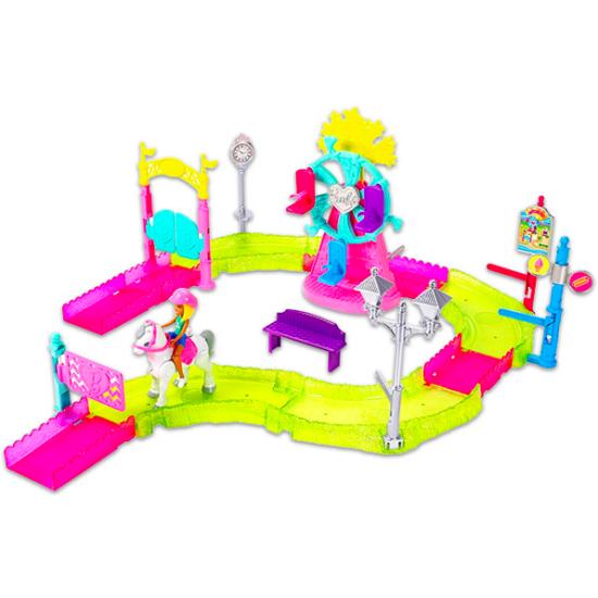 Barbie on the Go: Vidámpark szett