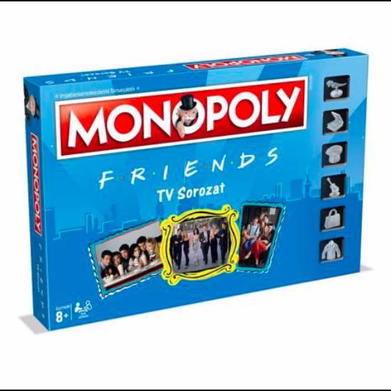 Hasbro Monopoly Friends - Jóbarátok társasjáték