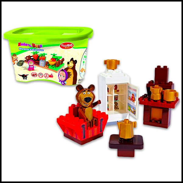 Masha: PlayBIG BLOXX - Medve szoba