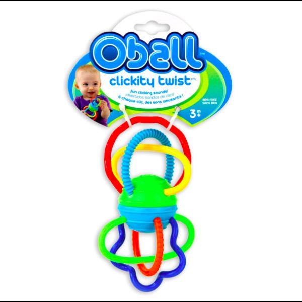 Oball: Clickity Twist bébijáték