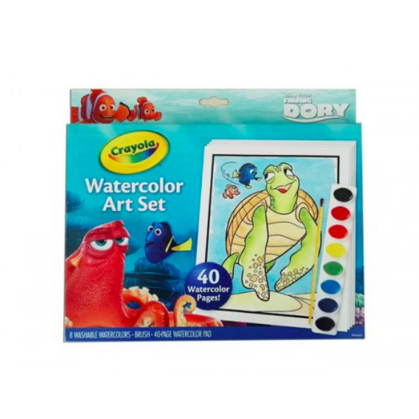 Crayola Szenilla nyomában festőkészlet