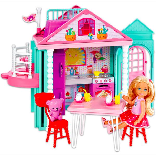 Barbie Chelsea klubháza