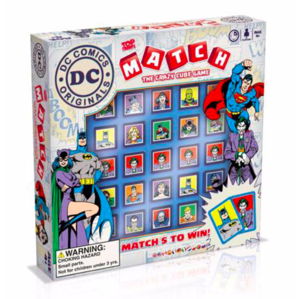 Top Trumps MATCH – DC Superheroes