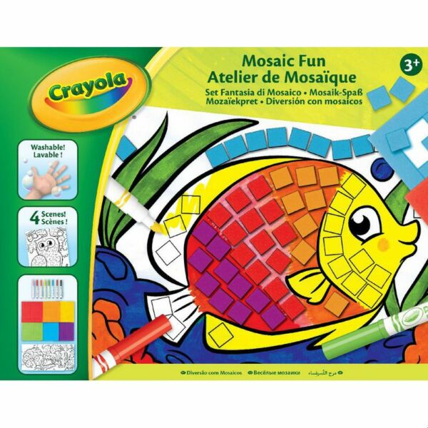 Crayola Mozaik Mánia színező készlet