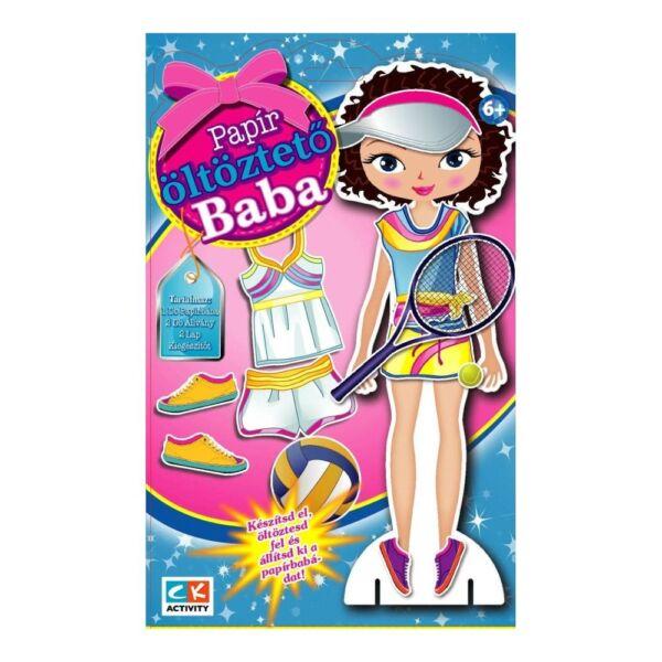 Creative Kids Papír ruhaöltöztető készlet