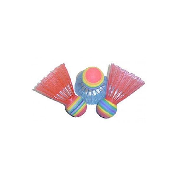 Színes tollaslabda szett 4 db-os - Spartan