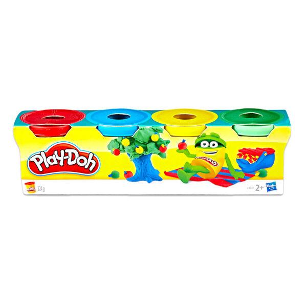 Play-Doh: 4 darabos mini gyurma készlet - vegyes színekben