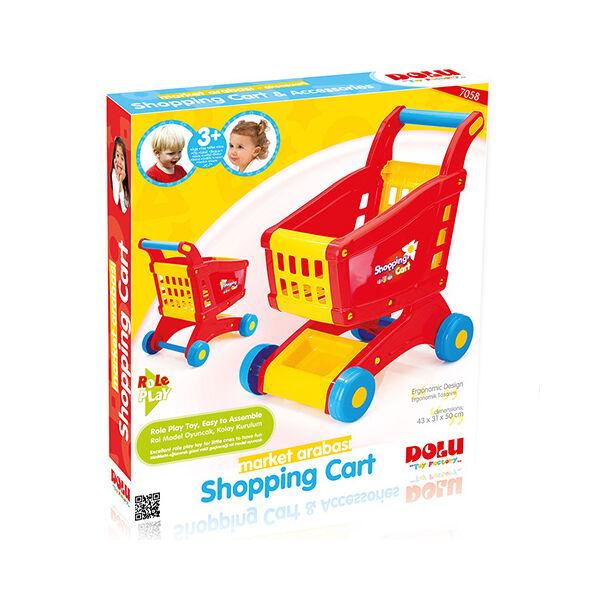 Wader bevásárlókocsi dobozban 48 cm