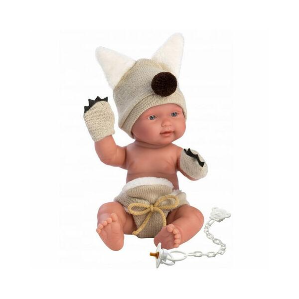 Llorens újszülött fiú baba jelmezben 26 cm