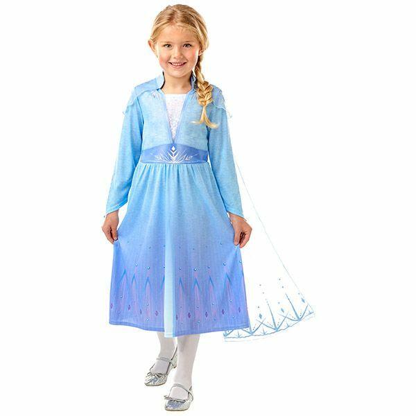 Disney Hercegnők: Jégvarázs: Elza utazós ruhája - 116 cm