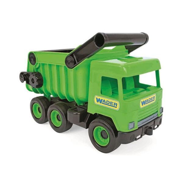 Wader Middle Truck Billentős dömper 43 cm zöld