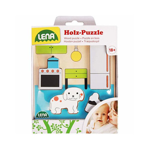 LENA: Konyha fa puzzle
