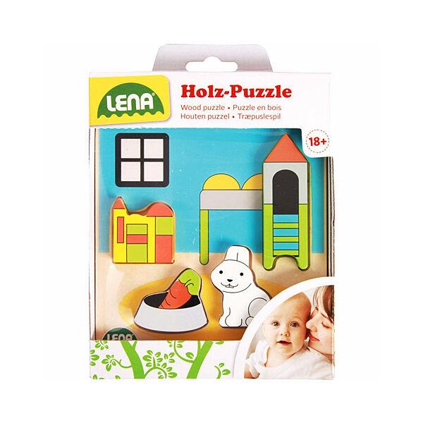 LENA: Gyerekszoba fa formaillesztő puzzle