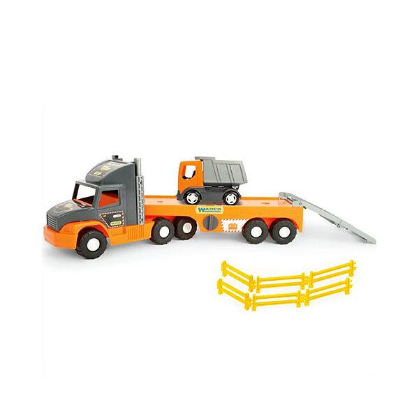 Wader Super Tech Truck kamion dömperrel