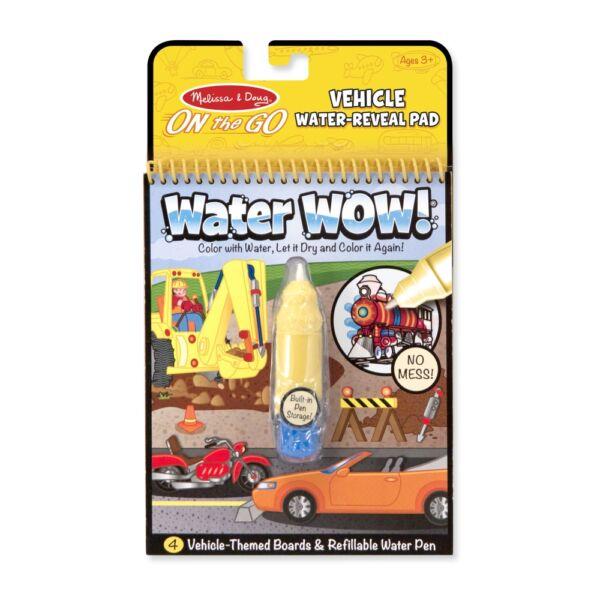 Melissa & Doug Kreatív játék, Rajzolás vízzel, járművek