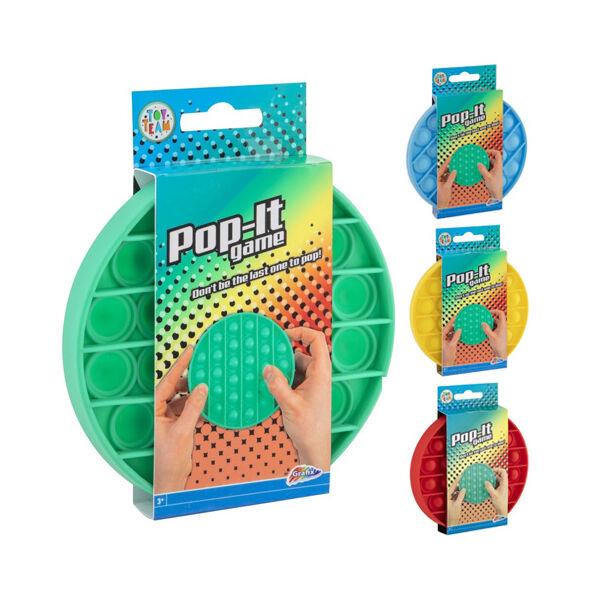 POP-IT Buborékpukkasztó játék - több színben