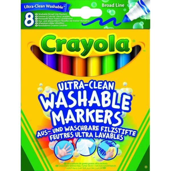 Crayola: Extra-lemosható vastag filctoll