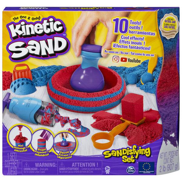 Spin Master: Kinektikus homok - kreatív készlet