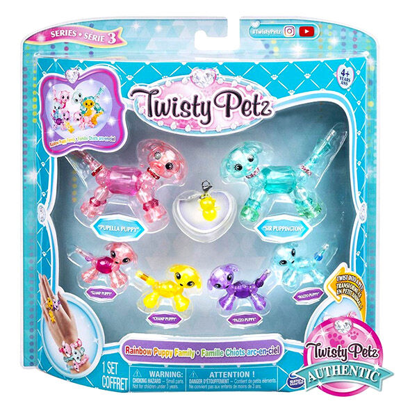 Twisty Petz: család - 3. széria, többféle