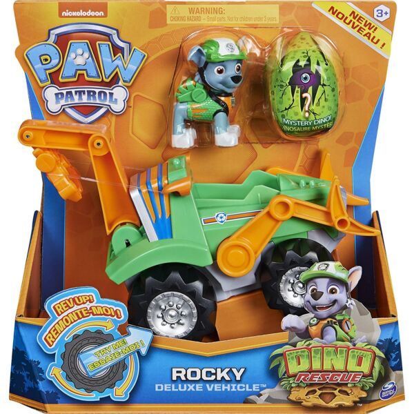 Mancs Őrjárat Dino járművek - Rocky