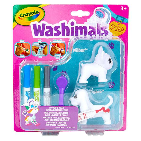Crayola Washimals: kimosható állatkák - kutyusok
