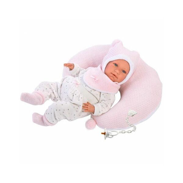 Llorens Mimi újszülött baba párnával