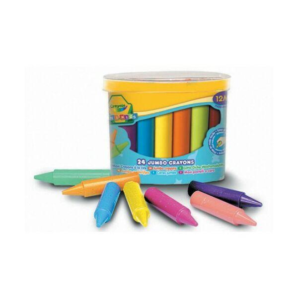 Crayola: 24 db tömzsi viaszkréta
