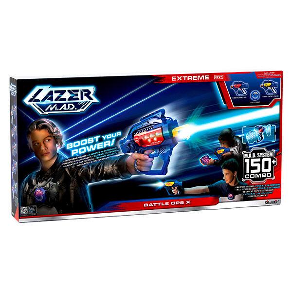 Lazer M.A.D.: Battle Ops X sugárvető készlet