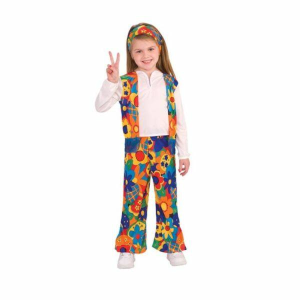 Rubies: Hippi lány jelmez - M méret